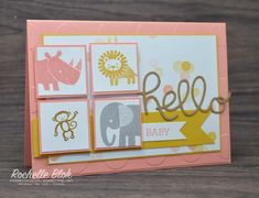 The Stamping Blok: Stamp Review Crew: Zoo Babies Edition