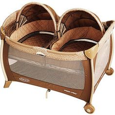 Graco - Pack 'n Play Playard with Twins Bassinet, Kensington Sadie mae, for you!