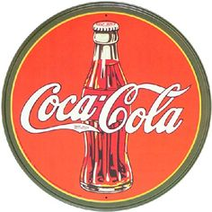 "Coca-Cola - ""On May a pharmacist named Dr. John Pemberton carried a jug of Coca-Cola® syrup to Jacobs' Pharmacy in downtown Atlanta, where it was mixed with carbonated water and sold for five cents a glass."" - Source: The Coca-Cola Company - Heritage"