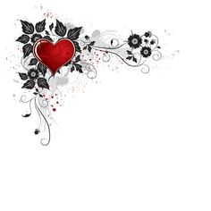 valentine's day flowers clip art