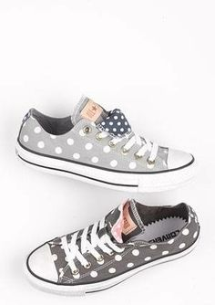Not a fan of chucks for girls, but they are coming out with some really feminine ones!