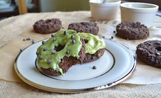 GF Mint Chocolate Chip Donuts
