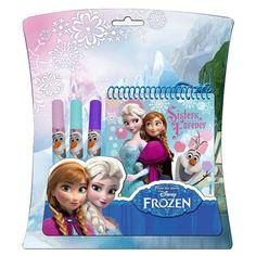 Filzstift + Notebook Kit Disney Frozen aus Großhandel und Import