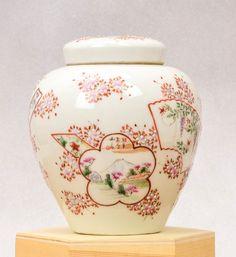 18C Chinese Antique Porcelain Famille Rose vase Crane    Lovely and interesting 18C Chinese Porcelain vase, highly decorated.