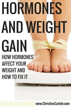 Hormones and Weight Gain - How hormones affect your weight and how to fix it