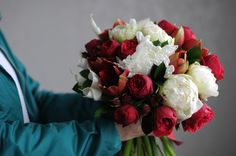 Красно-белый букет / White and red bouquet