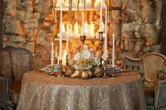 Gold wedding ideas, gold ideas, metallic wedding ideas