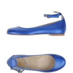 blue ankle strap flats - Google Search