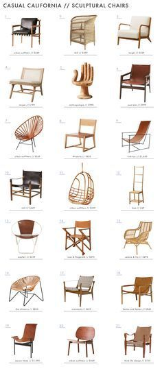 'Effortless Expensive' Style Roundup: Sculptural Chairs