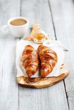 ~ coffee + croissants ~