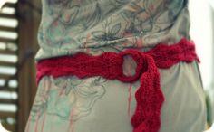 Crochet Belt Free Pattern
