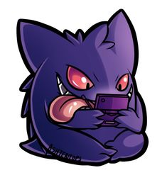 Gengar Commission by Ashteritops on deviantART