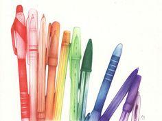 pen and ink drawing by Andrea Joseph Illustrations, Illustration Art, Ballpen Drawing, Ballpoint Pen Art, Beautiful Sketches, Beautiful Images, Arts Ed, Gcse Art, Ink Pen Drawings