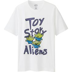 UNIQLO Men's Disney/pixar Collection Graphic T-Shirt ($15) ❤ liked on Polyvore featuring men's fashion, men's clothing, men's shirts, men's t-shirts, white, mens graphic t shirts, mens white shirts, mens t shirts and mens white t shirts