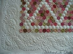 A couple of weeks ago I posted some design ideas for this quilt.   To view the post click here .   Well I ended up not using any of the o...