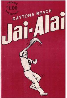 Daytona Beach Jai Alai Program from Friday June 14, 1985 Vol 27 #91 | eBay