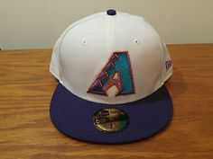 052d829974e New Era 59Fifty Arizona Diamondbacks Retro Baseball Hat Cap 7 1 2 Fitted D-