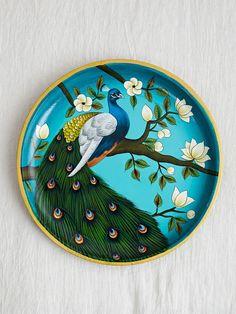 Pichwai Paintings, Indian Art Paintings, Mural Painting, Painting Tips, Pottery Painting, Ceramic Painting, Ceramic Art, Pottery Art, Madhubani Art