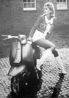 Lambretta Li Speciale with nice model