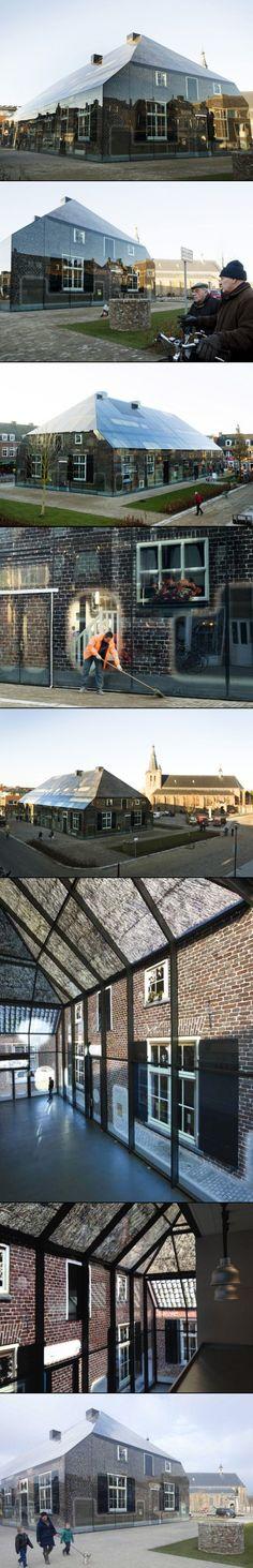 Glass Farm by MVRDV - created via http://pinthemall.net