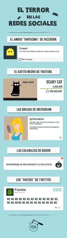 El gatito negro de Youtube, las brujas de Instagram y otros fantasmas que hay en las redes sociales - 40deFiebre