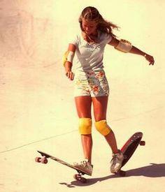 Ellen O'neal, la primera skater