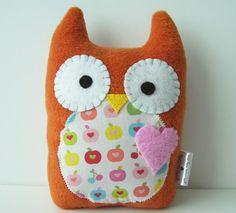 Sweet Owl Plush by gush4plush