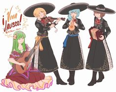 Prismriver Sisters Mariachi band!