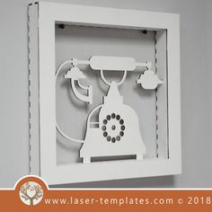 This ready-to-go Vintage Telephone Frame is perfect for laser cutting. Try something new and create unique products suitable for Interior Decorating, Birthday Gifts, Special Occasion Gifts and so on. Vintage Telephone, Try Something New, Laser Cutting, Birthday Gifts, Interior Decorating, Frames, Templates, Ideas, Birthday Presents