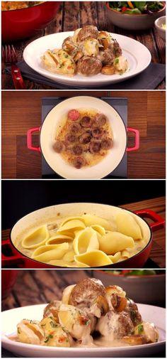 Pancakes, Lunch, Breakfast, Food, Noodle Casserole, Sauces, Gnocchi, Lasagna, Lunch Ideas