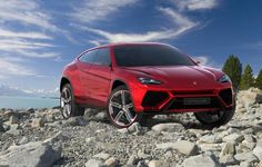 Lamborghini finally takes the wraps off its much rumored SUV during Auto China 2012 in Beijing. The Urus concept points the direction for a production SUV in the Lamborghini line-up. Lamborghini Suv Urus, Ferrari, Lamborghini Concept, Porsche Panamera Turbo S, Porsche 918 Spyder, Porsche Suv, Audi Q7, Volkswagen, My Dream Car
