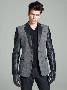 Sport jacket and gloves