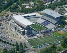 University of Washington, Huskies Stadium.