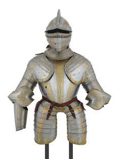 Armor attributed to Louis, Prince of Condé (1530-1569). . . Made around 1560-1570