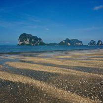 Pak Meng Beach, southern Thailand, covered in shells. Trueworldtravels.com