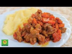 Мясной гуляш с карри - кулинарный рецепт