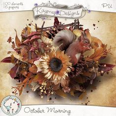 October Morning by Kaymee Designs  Shop @ Scrappity Doo Dah:  http://www.scrappity-doo-dah.com/store/product.php?productid=10212