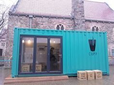 Bearpit Social opened earlier in the year, serving single origin coffee from Honduras. CUPP is the latest for the city, serving their Taiwan Bubble Tea out of a converted container. #shippingcontainer