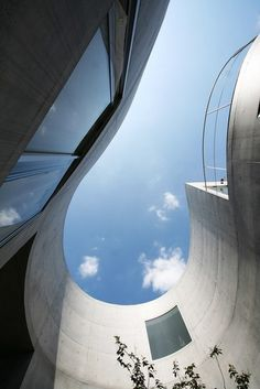 _Architecture / CJWHO ™ (Okurayama Apartments, Tokyo by SANAA) (http://www.pinterest.com/AnkAdesign/abstract-piece-of-tecture/)