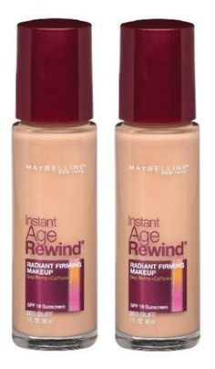 Maybelline New York Instant Age Rewind Radiant Firming Makeup, Buff 260, 1 Fluid Ounce, Pack of 2 >>> Check out the image by visiting the link.