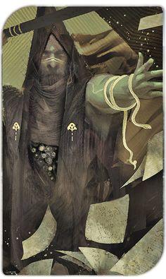 Dragon Age Inquisition Tarot - Album on Imgur. Created by the game concept team : Matt Rhodes, Nick Thornborrow, Casper Konefal and Ramil Sunga.