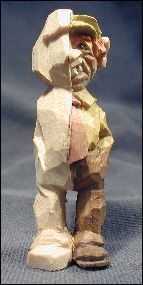 "The process of whittling a ""little guy""..."