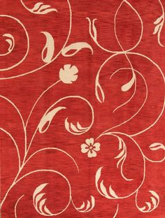 100% Wool Red Hand Tufted Transitional 9x12 Agra Oushak Oriental Area Rug Carpet #Handmade #Transitional