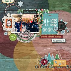 Holiday Keeper: Labels & Stamps and Snuggle Up Complete Collection by Mye De Leon