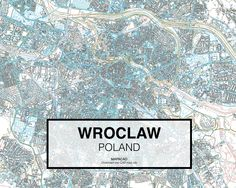 Breslavia - Poland. Download CAD Map city in dwg ready to use in Autocad. www.mapacad.com