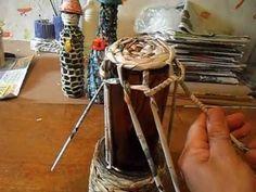 Como deixar uma simples garrafa mais bonita!! https://www.facebook.com/cidartemania