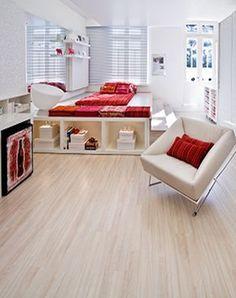 Piso Laminado Linha NATURE Durafloor Nature une a beleza do estilo natural ao que há de mais avançado em tecnologia para pisos laminados.