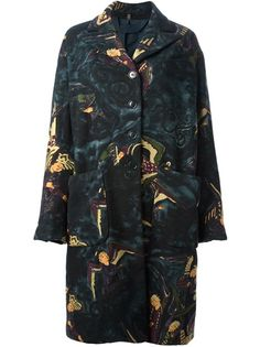 ROMEO GIGLI VINTAGE Printed Coat