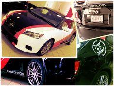 Scion tC test-drive unit at Country Hills Toyota Scion