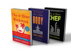 Tim Ferriss Book Giveaway! I love this guy! Enter to win all three of his books!